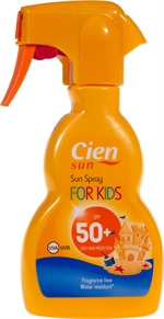 CIEN (LIDL) Sun spray for kids 50+ | Zonnecrème, zonnelotion of zonnespray?
