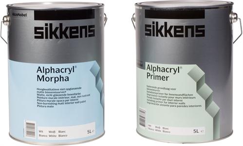 Muurverf Badkamer Sikkens : Sikkens alphacryl morpha test prijzen en specificaties