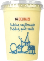 DELHAIZE Pudding vanillesmaak 500g
