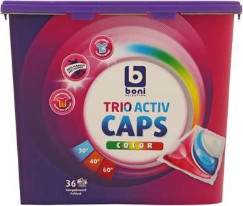 BONI SELECTION (COLRUYT) TRIO ACTIV CAPS COLOR | BONI SELECTION (COLRUYT) TRIO ACTIV CAPS COLOR test en review - Test Aankoop