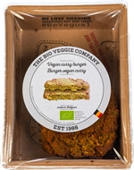 THE BIO VEGGIE COMPANY VEGAN CURRY BURGER