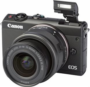 0382d847f4db86 CANON EOS M100 + EF-M 15-45mm f 3.5-6.3 IS STM  test complet, prix ...