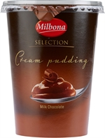 MILBONA (LIDL) Cream Pudding Selection melkchocolade 500g