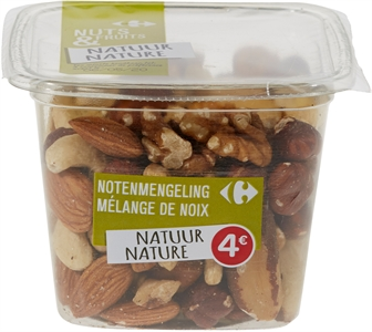 CARREFOUR NATURE NUTS & FRUITS NOTENMENGELING | CARREFOUR NATURE NUTS & FRUITS NOTENMENGELING test en review - Test Aankoop