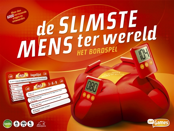 Just Games De Slimste Mens Ter Wereld Het Bordspel Test Prijzen En Specificaties